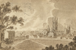 North View of Canterbury